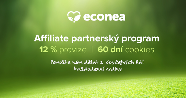 Partnerský program e-shopu Econea.cz