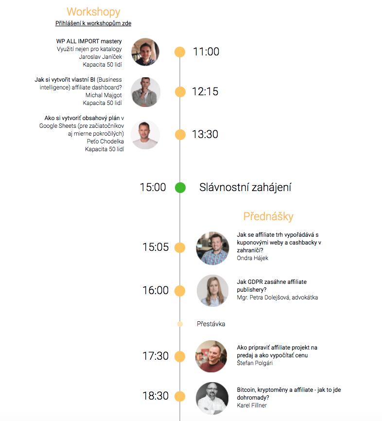 AffilHero konference - 1. ročník