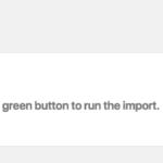 A už vám zbývá jen spustit import přes Confirm & Run Import.