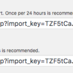 Importový cron má vždy 2 části: spouštěč (trigger) a importér (execution). První skript neboli spouštěč doporučuji zapínat aspoň 1x za 24 hodin, ten druhý je ideální mít spuštění co nejčastěji, placený doplněk u Wedosu umožňuje například co 5 vteřin.