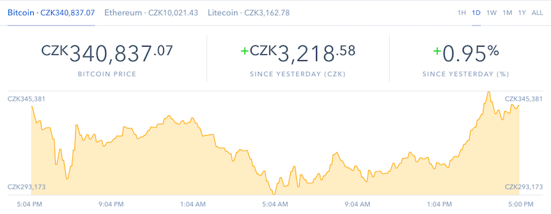 Coinbase.com - koupě bitcoinu, litecoinu a etherea